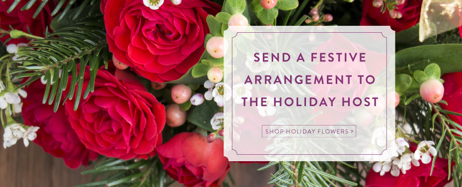 Send a Festive Arrangement to the Holiday Host