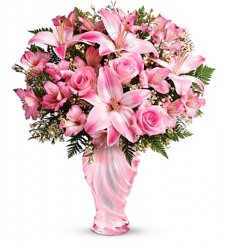 mother's day elegance in pink bouquet flower bouquets, Beautiful flower