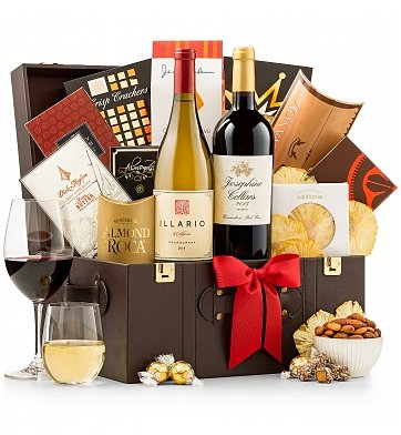 Wine Baskets: The Vintner's Anniversary Wine Chest