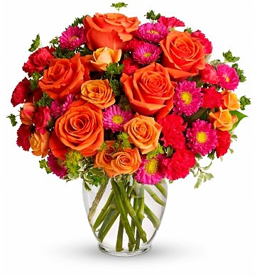 Flower Bouquets: A Grand Thank You Bouquet