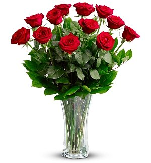 Red Roses Anniversary Bouquet