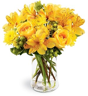 Flower Bouquets: Golden Radiance Bouquet