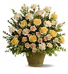 Funeral Flowers: Rose Remembrance Bouquet