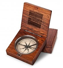 Personalized Keepsake Gifts: Desktop Artisan Compass