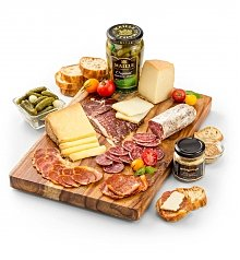 Cheese, Charcuterie Gifts: Reserve Charcuterie and French Cheese Gift