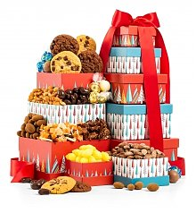 Gift Towers: Merry & Bright Chocolate Tower