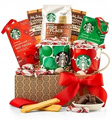 Coffee & Tea Gift Baskets: Starbucks® Morning Perks Coffee Collection