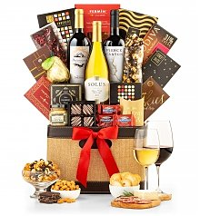 Wine Baskets: Three Cheers