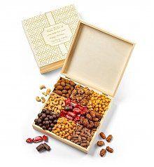 Gourmet Gift Baskets: Personalized Keepsake Box of Delights