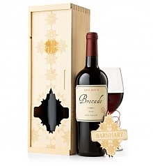 Personalized Wine Gifts: Deck the Halls Wine Crate