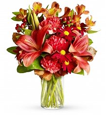 Flower Bouquets: Fall Fashion