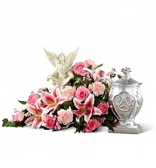 Funeral Flowers: Divinity Arrangement
