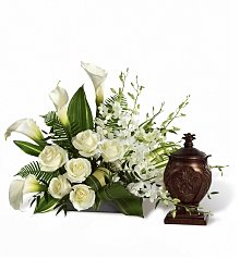 Funeral Flowers: At Peace Arrangement