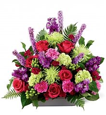 Funeral Flowers: Warm Embrace Arrangement