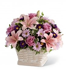 Funeral Flowers: Loving Sympathy Basket