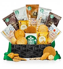 Coffee & Tea Gift Baskets: Starbucks® Coffee & Cookies Delight