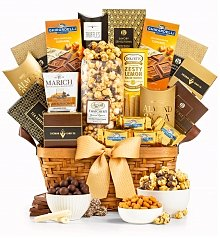 Gourmet Gift Baskets: As Good As Gold Excellence