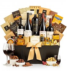 Wine Baskets: Reserve Wine & Chocolate Collection