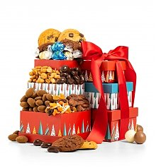 Gift Towers: Merry & Bright Chocolate Trio