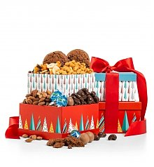 Gift Towers: Winter Treats Chocolate Duo