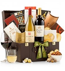 Wine Baskets: Nourishing Get Well Gift Basket
