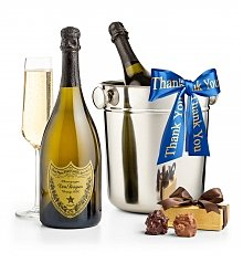 Champagne Gifts: Thank You First Class Champagne Gift