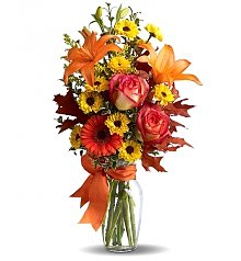 Flower Bouquets: Harvest Sunrise Bouquet