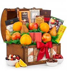 Fruit Baskets: Fruit and Gourmet Thank You Treasure