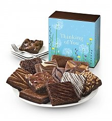 Cakes and Desserts: One Dozen Thinking Of You Brownies