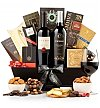 Wine Baskets: Caring Thoughts Gift Basket